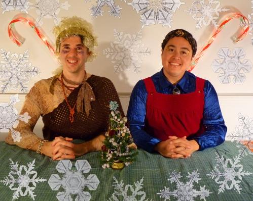 """Still from, """"A Special Holiday Message,"""" 2012, 6 min, DV"""